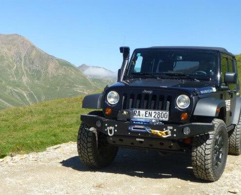 Seilwinde mit TÜV Jeep JK 4WARD4X4