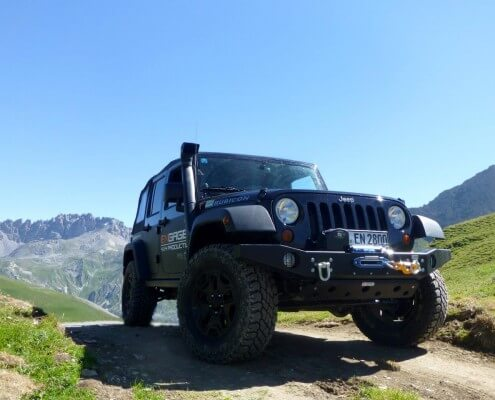ENGAGE4X4 Jeep Wrangler JK Windenstoßstange