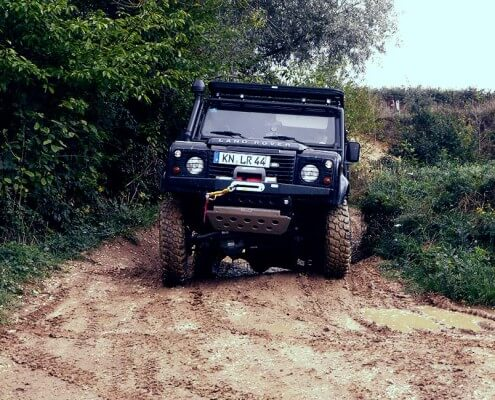 Offroad Test Defender