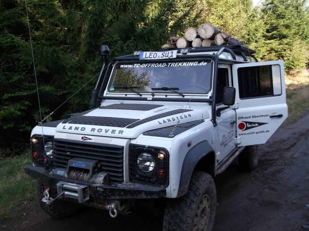 Expeditions 4x4 Dachträger mit Airline System Befestigung