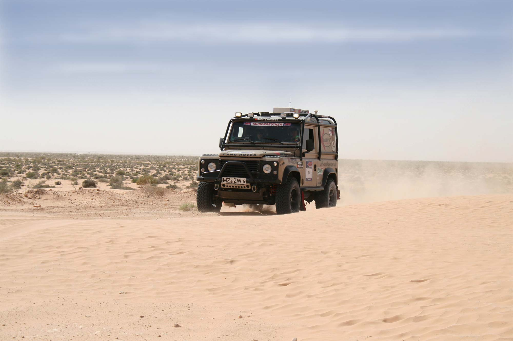 Defender 4WARD4X4 Umbau