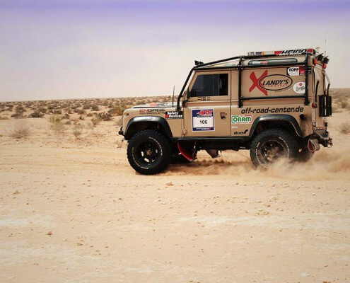 Rally Defender Umbau 4WARD4X4