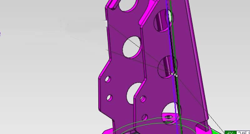 Daempferdome CAD 4WARD4X4