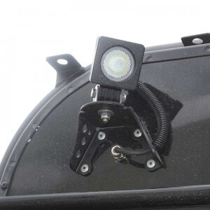 halterung antenne scheinwerfer1 engage4x4 jeep jk und. Black Bedroom Furniture Sets. Home Design Ideas
