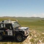 Defender in Mongolai