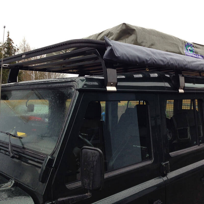 Roof rack Defender 110 with arline system by ENGAGE4X4