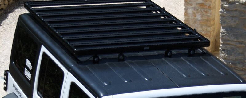 Jeep JK Ultra light roof rack