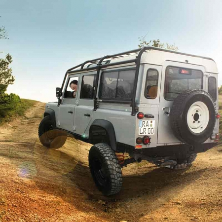 Rockslider ENGAGE4X4 Defender 110